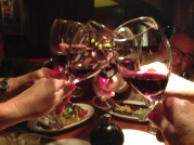 Cheers at Rutherford Grill