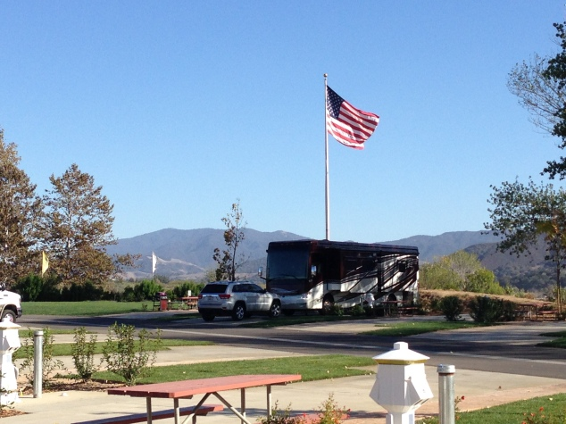 Flying Flags RV Site