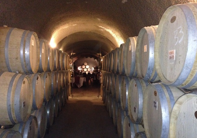 Eberle Wine Cave for Parties