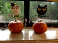 Halloween Decor in Coach