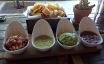 Trio of Salsas and Chips