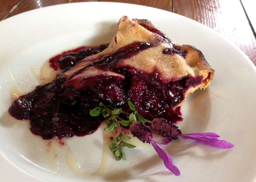 1st Marionberry Pie