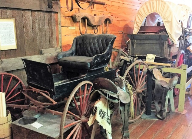 Brownsville Museum Buggy and Covered Wagon