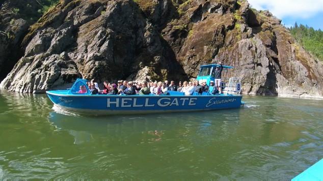 Hellgate Jet Boat