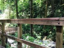 Wood platform