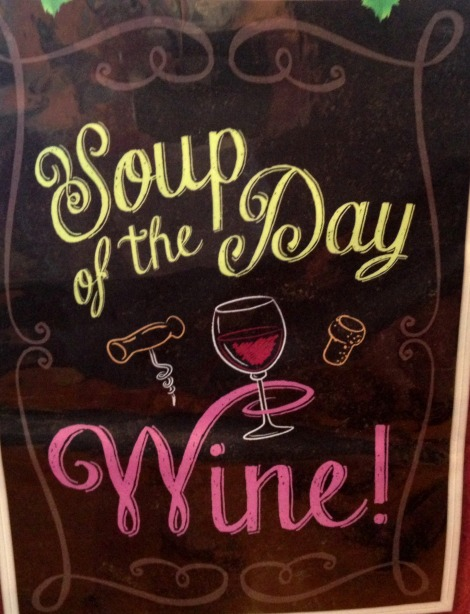 Soup of the Day Wine