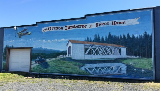 Sweet Home Jamboree Mural