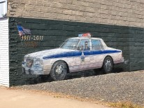 Sweet Home Mural Cop Car
