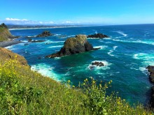 Yaquina Head shoreline