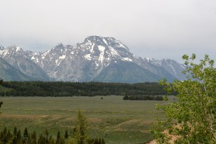 Mt Moran and valley