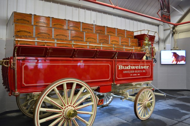 Original style Budweiser beer hitch.JPG